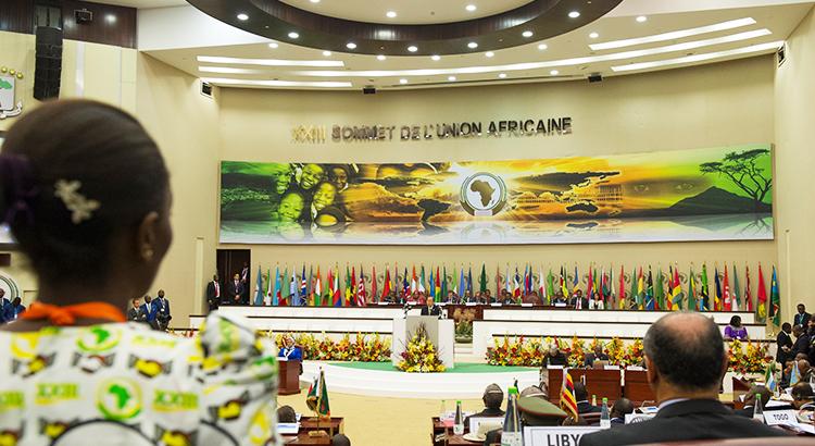 Gipfeltreffen Afrikanische Union