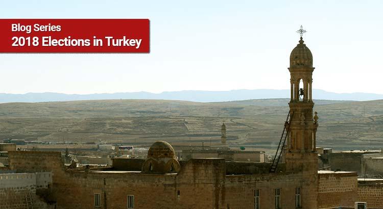 Das Tur Abdin-Gebirge ist die Heimat der syrisch-orthodoxen Minderheit in der Türkei