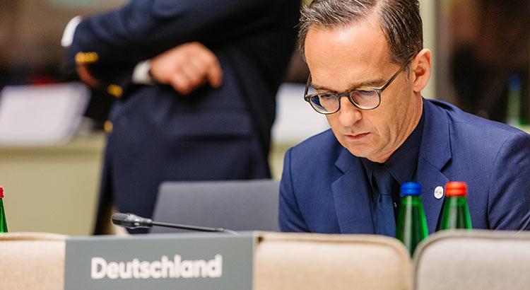Der deutsche Außenminister Heiko Maas