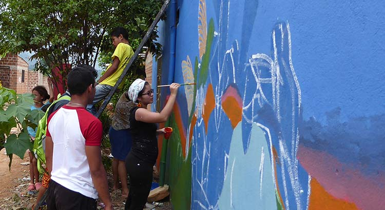 """Paint Your Voice"" Event in Colombia"