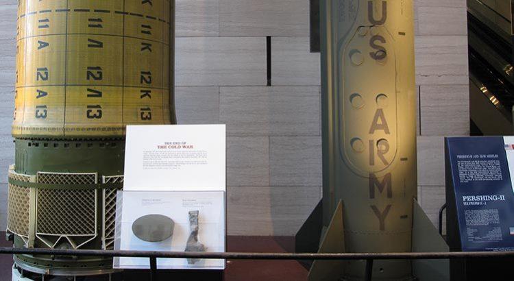 Das Ende des kalten Krieges? Pershing-II-Raketen im Museum