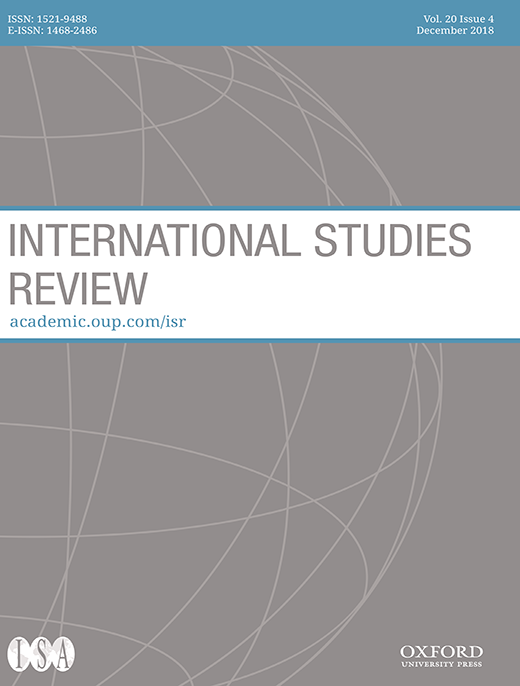 Cover International Studies Review