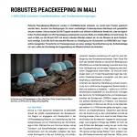 PRIF Spotlight 2/2019: Robustes Peacekeeping in Mali. MINUSMA zwischen Gewalteskalation und Friedensanstrengungen