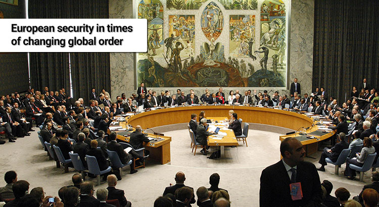 The UN Security Council takes a vote