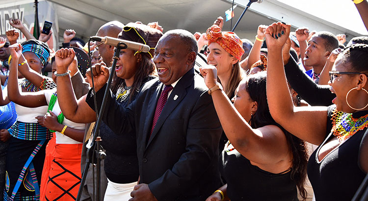 South Africa's newly elected president Cyril Ramaphosa announced the country's first gender equal cabinet.
