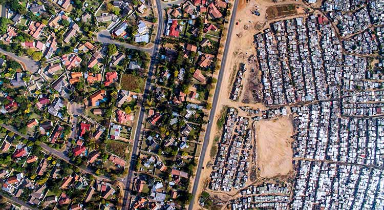 Kya Sands Township in Johannesburg, South Africa