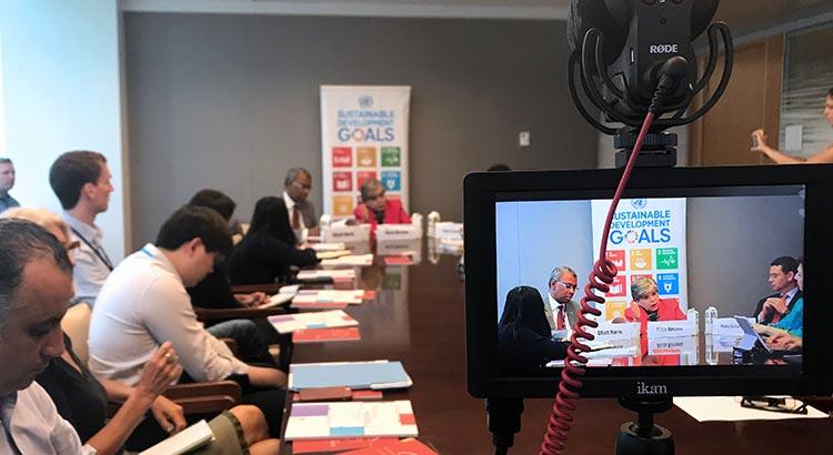 Gewaltkonflikte werden vage als 'Störfaktoren' auf dem Weg zur Erreichung der SDGs gesehen