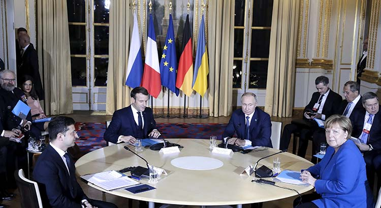 Normandy Format Summit Held in Paris | Photo: picture alliance/ZUMA Press