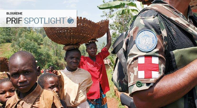 Mitglied einer nepalesischen Spezialeinheit 2004 in Isale, Burundi (Photo: © UN Photo 62133/Martine Perret)