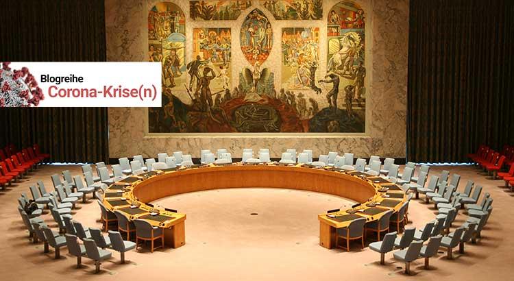 Versammlungshalle des UN-Sicherheitsrat in New York City.