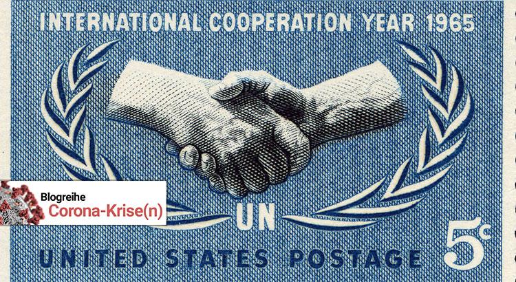 US-Briefmarke zum Gedenken an den 20. Jahrestag der Vereinten Nationen