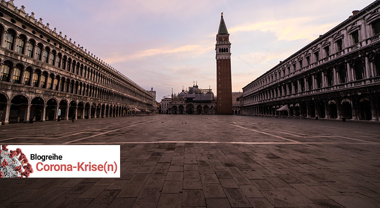 The empty Piazza San Marco in Venice | Photo: Kaveman743 | CC BY-NC 2.0