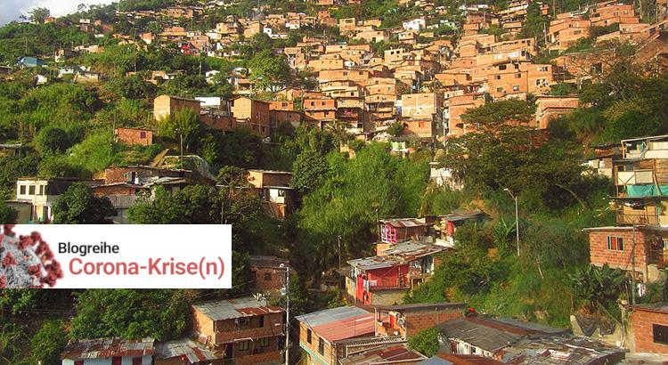 Medellín barrio Villa Turbay - Línea H del Metrocable entre las estaciones Las Torres y Villa Sierra