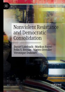 "Cover des Buches ""Nonviolent Resistance and Democratic Consolidation"""