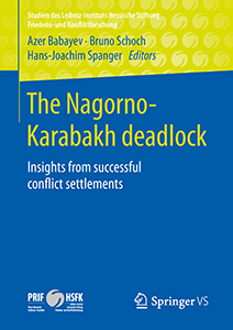 "Cover des Buches ""The Nagorno-Karabakh deadlock Insights from successful conflict settlements"""