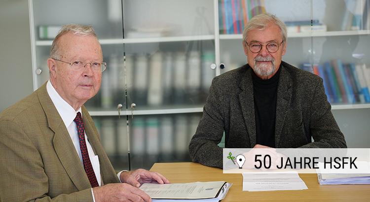 Karl Starzacher und Bruno Schoch