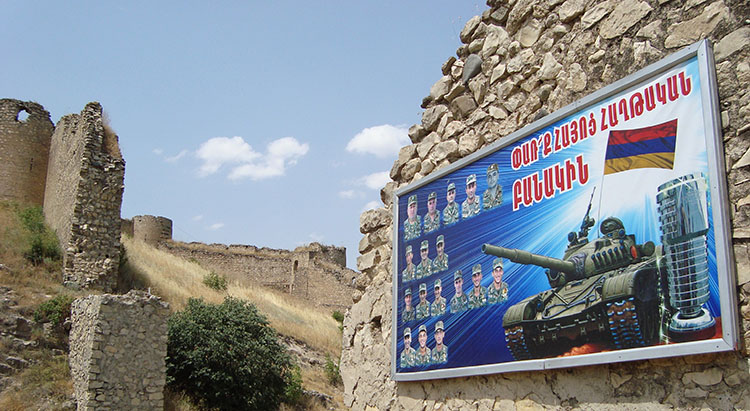 Mayraberd or Askeran Fortress in Nagorno-Karabakh
