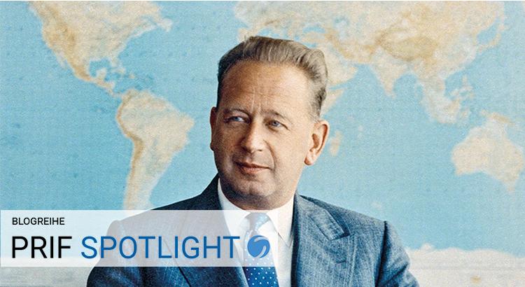 Dag Hammarskjöld am 6.1.1959 (© UN Photo/JO)